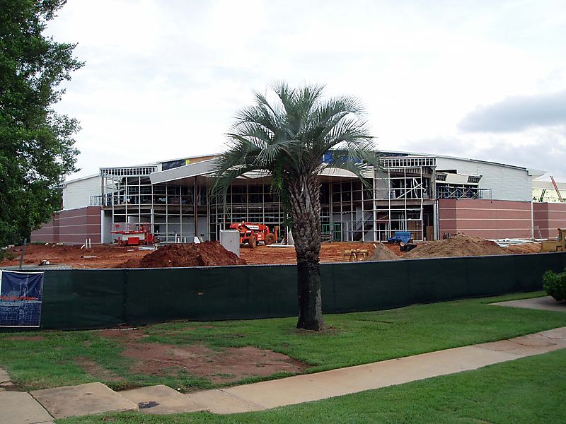Construction of New Gym and Convocation Center