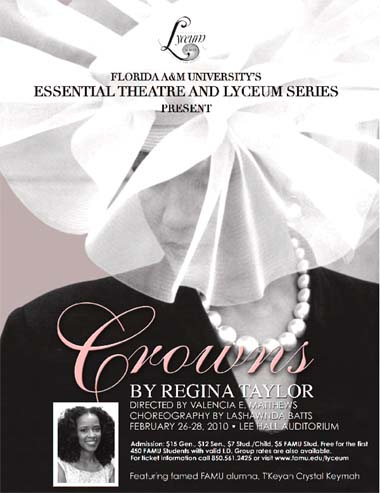 Crowns Flyer for 2010 FAMU Production 380 px