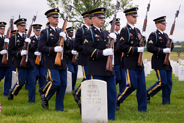 US Army Old Guard-Arlington National Cemetery_380px
