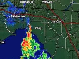 Florida Lightning Show Storm