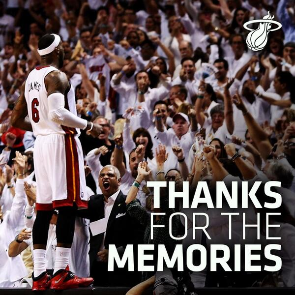 2014 07.11 thanks for the memories King James