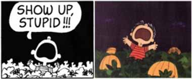 11 Linus screams SHOW UP STUPID in the nighttime patch_380px